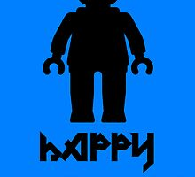 Happy Birthday Greeting Card by Customize My Minifig by ChilleeW
