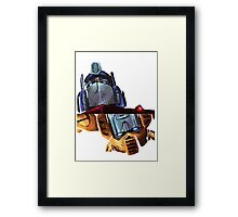Optimus/bumblebee Framed Print