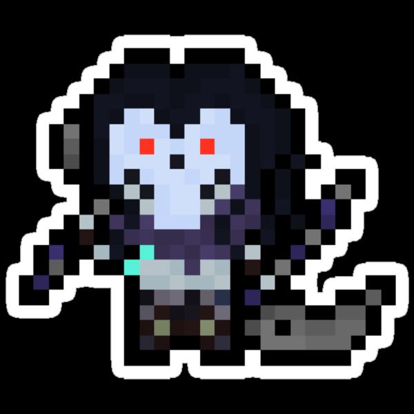 Death, The Pixel Horseman by Pixel-League
