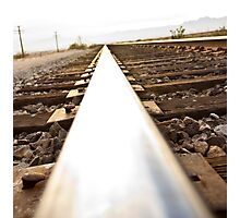 On the rail Photographic Print