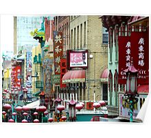 Chinatown - San Francisco Poster