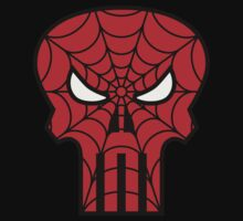 The Spider Punisher Man Logo by Adam Campen