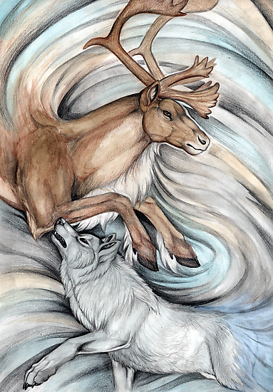 The Hunter and Hunted by morrokko