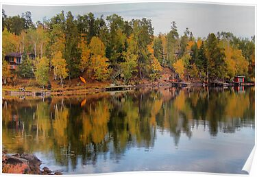 Peniac Bay, West Hawk Lake by Vickie Emms