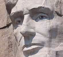 Abraham Lincoln, Mount Rushmore National Memorial by Alex Preiss