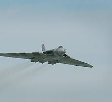 The RAF Cold war era Vulcan bomber by miradorpictures