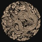 Chinese dragon by Chrome Clothing