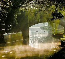 Along the Towpath by John Dunbar