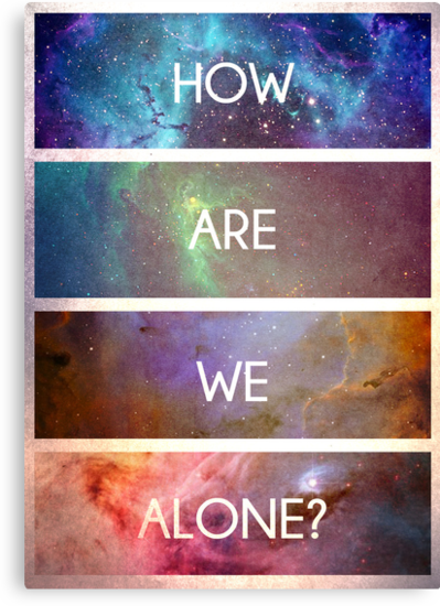 How are we alone by Owen  Cheshire