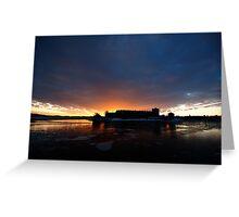Waxholm Castle - II Greeting Card