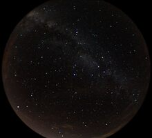 Fisheye Milky Way by Daniel Owens