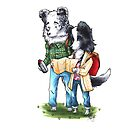 Adventure Border Collies by WeileAsh