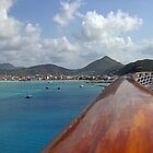 Welcome to St Maarten  by John  Kapusta
