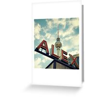 Alex Greeting Card