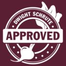 Dwight Approved (White) by mustbethursday