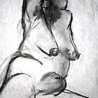 Nude Sketch by Marsha Hallet