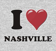 I Heart / Love Nashville by HighDesign