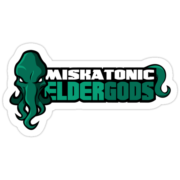 Miskatonic University Elder Gods (Full Logo) by Daniel Rubinstein