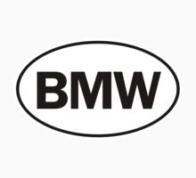 BMW - Oval Identity Sign by Ovals
