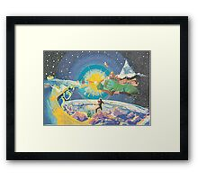 A Waking Dream Framed Print