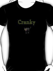 cool cranky black Halloween funny cat T-Shirt