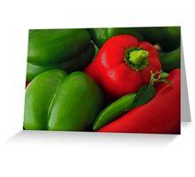 Pepper Harvest Greeting Card