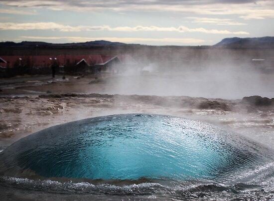 the blue bubble by JorunnSjofn Gudlaugsdottir