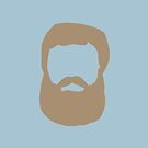 Real Men Have Beards (Brown Beard) by CoolFRI