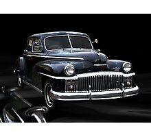 1945 DeSoto Buick Photographic Print