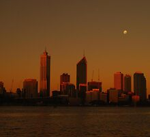Perth - Dusk Through Sunglasses by cactus82