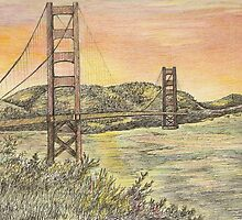 THE GOLDEN GATE by lulabell83