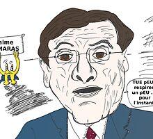 Le Premier ministre grec Antonis Samaras bande dessinée by Binary-Options