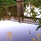 railbridge over the macquarie at dubbo by kchamula