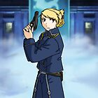 Riza Hawkeye by BarbaraJHarris