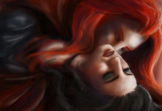 Stollen kiss by Kagara
