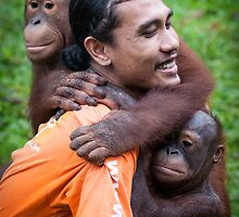 The Centre for Orangutan Protection by Orangutans
