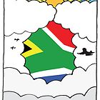 Emigrating To South Africa Card by springwoodbooks