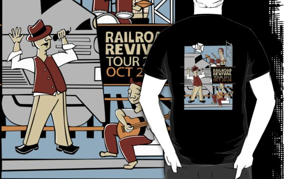 Railroad revival tour 2012 by Sanne Thijs