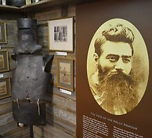 Ned Kelly @ Kates Cottage Glenrowan by Pete Simpson