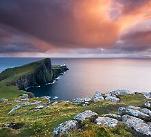 Neist Point @ sunset by Angie Latham