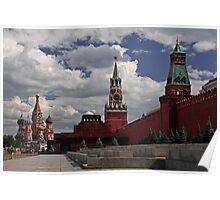 Kremlin. Red Square. Poster