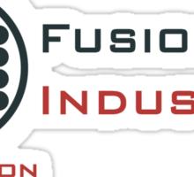 Mr. Fusion / Fusion Industries Sticker