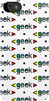 Geek Alert iphone 3G  4G  4s  by Andi Bird
