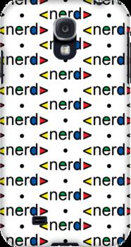 Nerd Alert iphone 3G  4G  4SG by Andi Bird