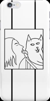 Cat Licker by Fangpunk
