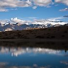 Lake near Dankar, Indian Himalayas by espanek
