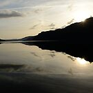 dawn over ullswater by jon  daly