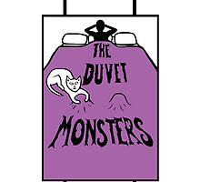 The Duvet Monsters Cat in Colour by Fangpunk