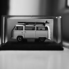 Minature VW Camper. by MutaPhotography