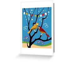 We are like two bird Greeting Card